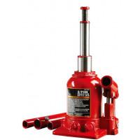 Домкрат бутылочный низкопрофильный двухштоковый 2т 150-370 мм TF0202 TORIN
