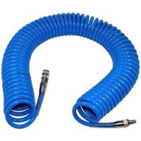 Шланг спиральный полиуретановый 6,5*10мм L=15м AIRKRAFT AHC46-G