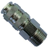 Быстроразъёмное соединение 1/2″ внешняя резьба AIRKRAFT SE1-4SM