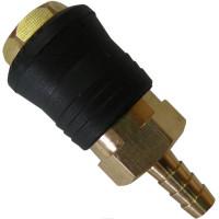 Быстроразъёмное соединение на шланг 6мм (PROFI) AIRKRAFT SE6-2SH