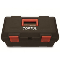 Ящик для инструмента 3 секции (пластик) 445x240x202мм TOPTUL TBAE0301