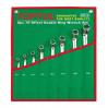 Набор накидных ключей 6-22 мм (угол 75°) 8 ед. TOPTUL GAAA0810