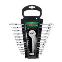 Набор ключей комбинированных 12 шт. 6-19мм TOPTUL GAAC1201